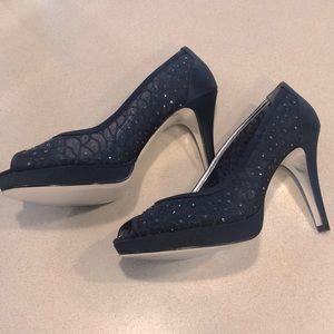 Adrianna Papell peep toe pumps